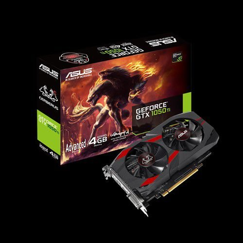 PLACA DE VIDEO ASUS GEFORCE CERBERUS GTX 1050 TI OC 4GB - GD