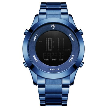 Relógio Masculino Tuguir Digital TG103 - Azul