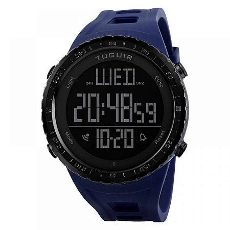 Relógio Masculino Tuguir Digital TG1246 - Azul e Preto