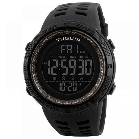 Relógio Masculino Tuguir Digital TG1251 - Preto