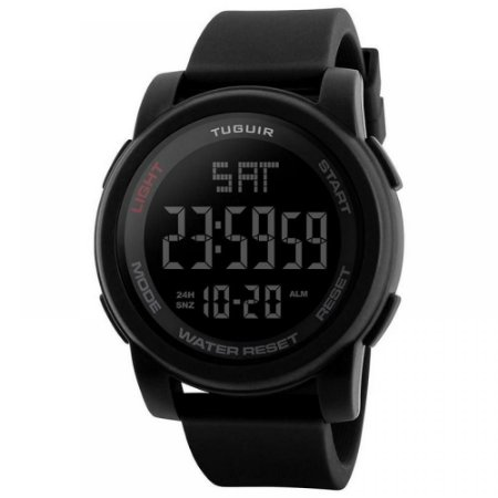 Relógio Masculino Tuguir Digital TG1257 - Preto