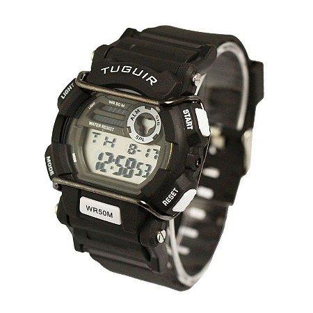 Relógio Masculino Tuguir Digital TG6002 - Preto-
