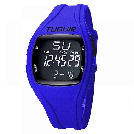 Relógio Unissex Tuguir Digital TG1801 - Azul e Preto
