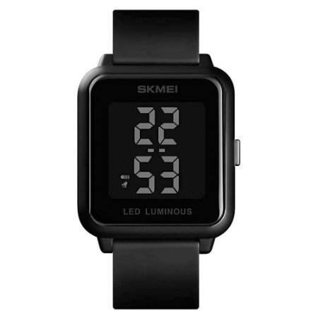 Relógio Unissex Skmei Digital 1566 - Preto