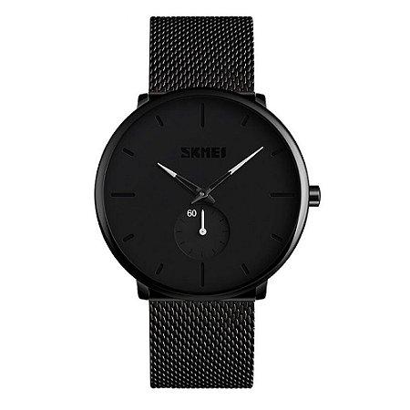 Relógio Unissex Skmei Analógico 9185 - Preto e Branco