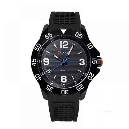 Relógio Masculino Curren Analógico 8181 - Preto