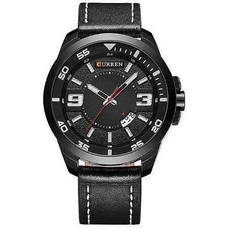 Relógio Masculino Curren Analógico 8213 Preto-