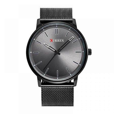 Relógio Masculino Curren Analógico 8233 - Preto