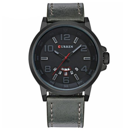 Relógio Masculino Curren Analógico 8240 - Cinza