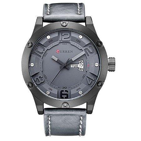 Relógio Masculino Curren Analógico 8251 Cinza-