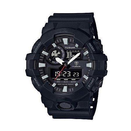 Relógio Masculino Tuguir Anadigi TG6019 Preto-