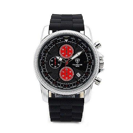 Relógio Masculino Tuguir Analógico 5009 Preto-