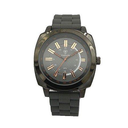 Relógio Masculino Tuguir Analógico 5014 - Cinza-