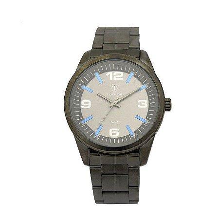 Relógio Masculino Tuguir Analógico 5037 - Cinza e Azul-