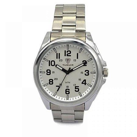 Relógio Masculino Tuguir Analógico 5045 - Prata