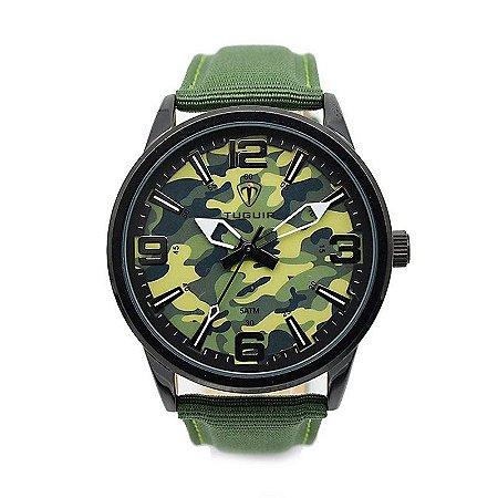 Relógio Masculino Tuguir Analógico 5055 - Verde-