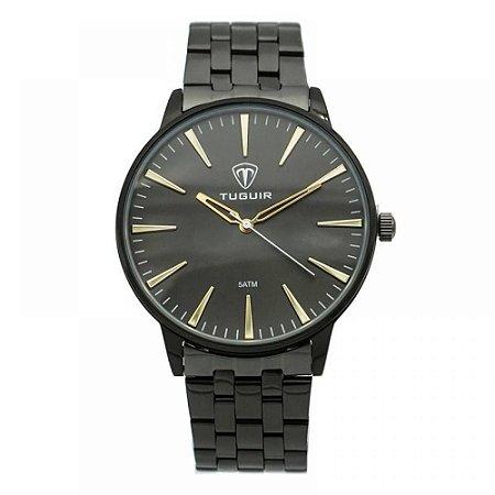 Relógio Masculino Tuguir Analógico 5273G - Preto