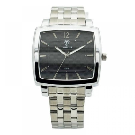 Relógio Masculino Tuguir Analógico 5436G Prata
