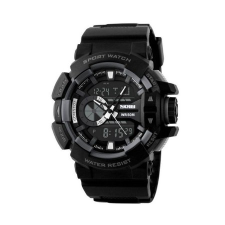 Relógio Masculino Skmei Anadigi 1117 Cinza-
