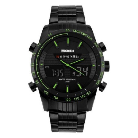 Relógio Masculino Skmei Anadigi 1131 Verde-