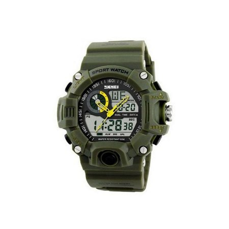 Relógio Masculino Skmei Anadigi 1029 Verde-