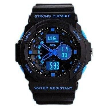 Relógio Masculino Skmei AnaDigi 1061 - Preto e Azul