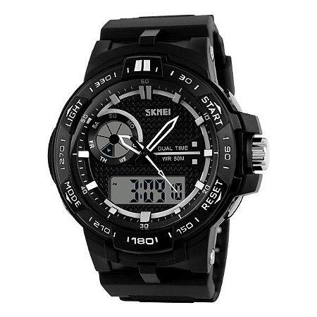 Relógio Masculino Skmei Anadigi 1070 Preto-
