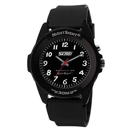 Relógio Masculino Skmei Analógico 0887 Preto-