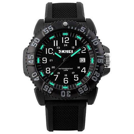 Relógio Masculino Skmei Analógico 1078 Preto-