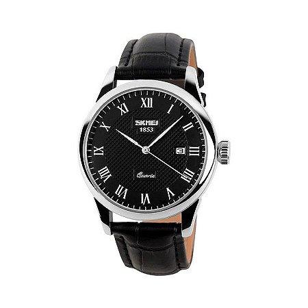 Relógio Masculino Skmei Analógico 9058 Preto-
