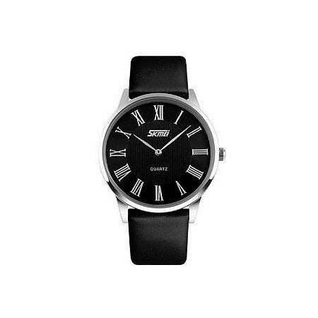 Relógio Masculino Skmei Analógico 9092 Preto-