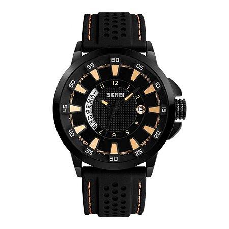 Relógio Masculino Skmei Analógico 9152 Dourado