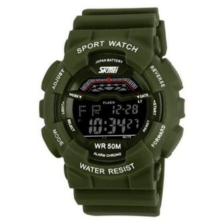 Relógio Masculino Skmei Digital 1012 Verde-