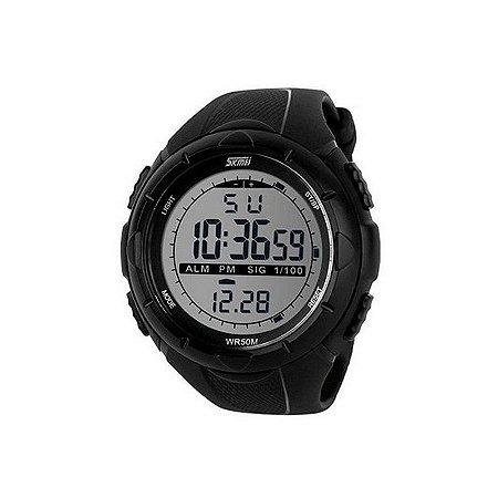 Relógio Masculino Skmei Digital 1025 Preto-