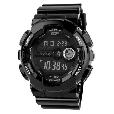 Relógio Masculino Skmei Digital 1026 Preto-