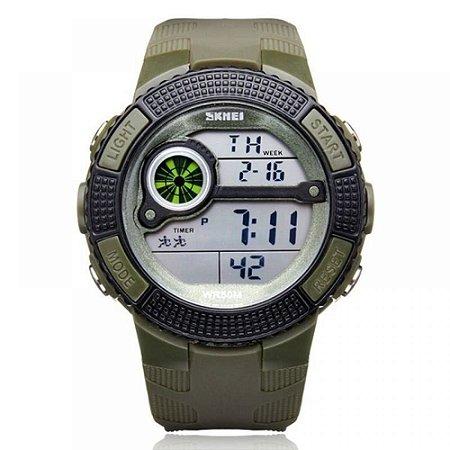 Relógio Masculino Skmei Digital 1027 - Verde