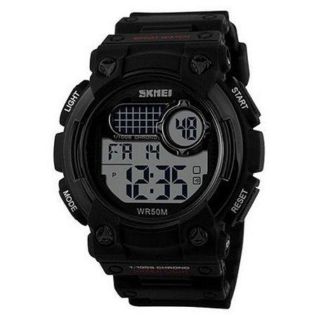 Relógio Masculino Skmei Digital 1054 Preto-