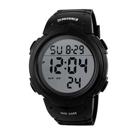 Relógio Masculino Skmei Digital 1068 Preto-