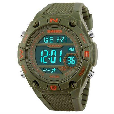 Relógio Masculino Skmei Digital 1093 Verde-
