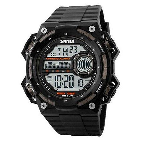 Relógio Masculino Skmei Digital 1115 - Preto e Cinza-