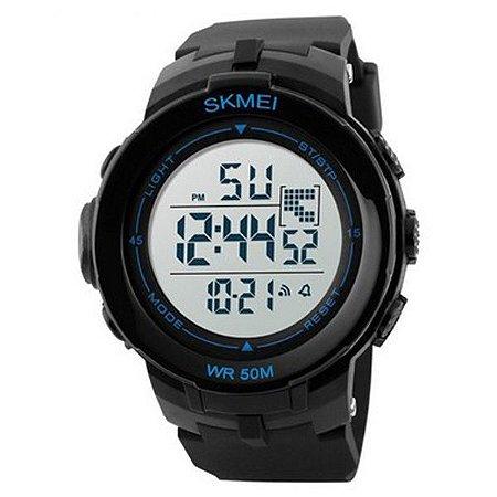 Relógio Masculino Skmei Digital 1127 - Preto e Azul-