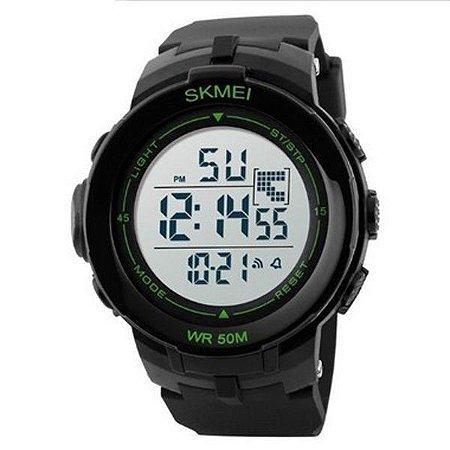 Relógio Masculino Skmei Digital 1127 Preto e Verde-