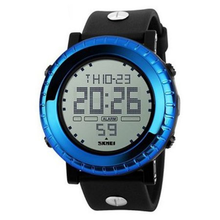 Relógio Masculino Skmei Digital 1172 - Preto e Azul-