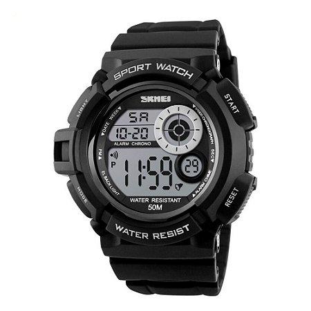 Relógio Masculino Skmei Digital 1222 - Preto