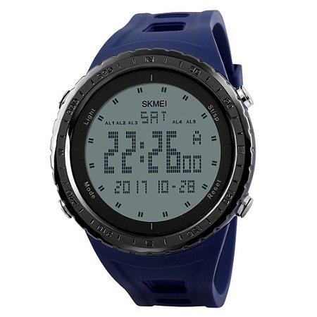 Relógio Masculino Skmei Digital 1246 - Azul e Preto