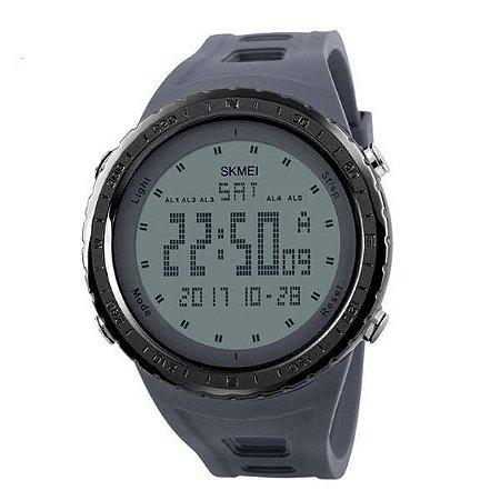 Relógio Masculino Skmei Digital 1246 - Cinza e Preto