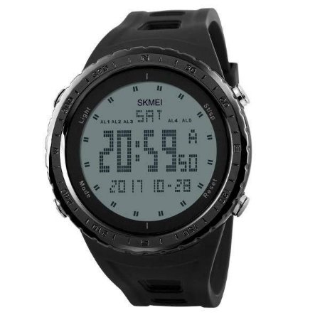 Relógio Masculino Skmei Digital 1246 - Preto