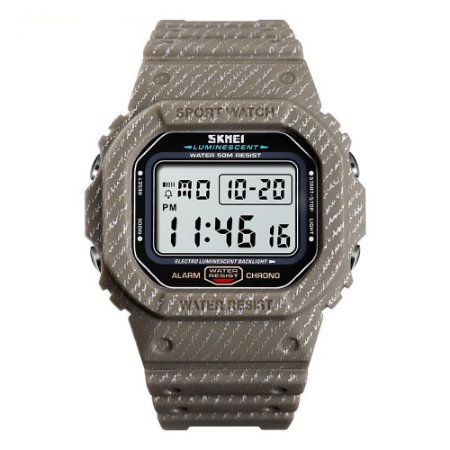Relógio Masculino Skmei Digital 1471 - Marrom