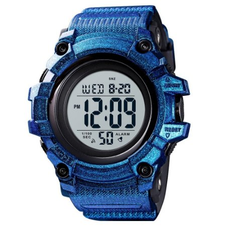 Relógio Masculino Skmei Digital 1522 - Azul Perolizado