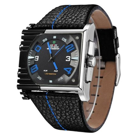 Relógio Masculino Weide AnaDigi Esporte WH-2301 Azul-